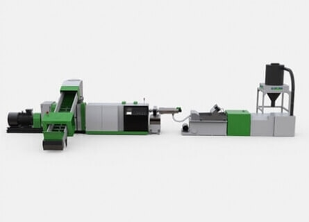 Cutter Compactor Recycling Pelletizing System