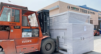 On March 24, 2021, Our Granulator And Shredder Will Be Shipped Daily To Saudi Arabia