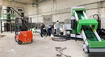 More And More European Customers Choose Our Recycling Granulator