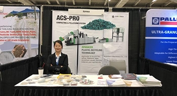 We Are In USA For 2019 Plastics Recycling World Exhibition-ACERETECH