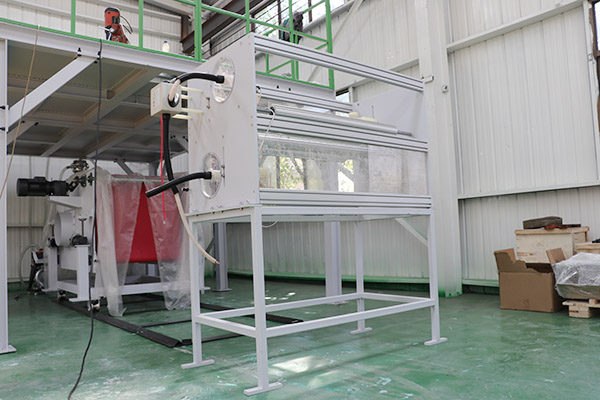 melt blown fabric manufacturing machine