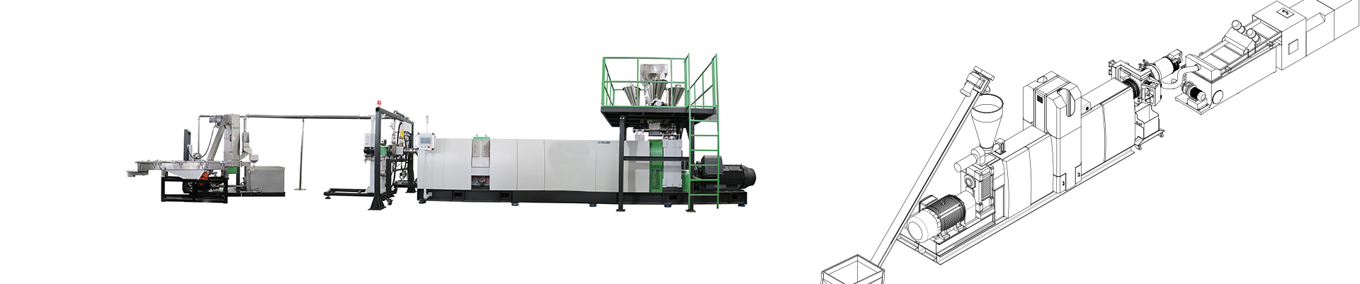 ASE- PRO excellent degassing and filtering pelletizing line