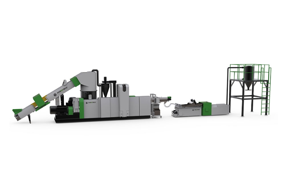 ACS-PRO Excellent Degassing and Filtering Pelletizing Line