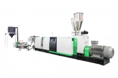 ASE Single screw extruder recycling machine
