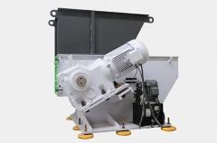 Шредер одиночного вала пластиковых отходов серии ЛС с малым объемом и толщиной стенки
