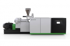 ACT Conical twin screw extruder recycling machine