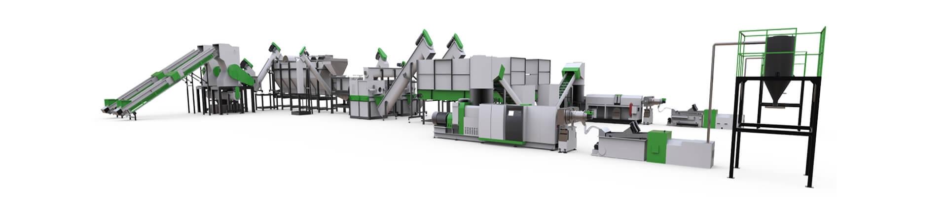 AWS-PET washing recycling machine